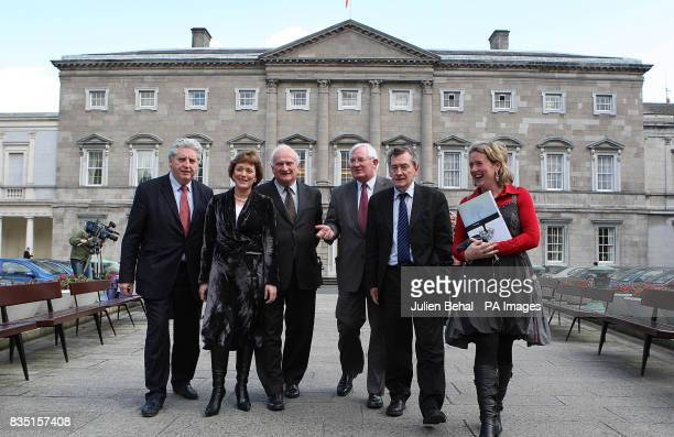 The Consultative group on the Past meet at Leinster House Dublin Alasdair McDonnell SDLP Margaret Conlon FG TD Cecelia Keaveney FF TD Denis Bradley...