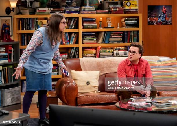 'The Consummation Deviation' Pictured Amy Farrah Fowler and Leonard Hofstadter Sheldon tries to bond with Amy's father but when Wolowitz lures Mr...