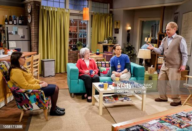 'The Consummation Deviation' Pictured Amy Farrah Fowler Mrs Fowler Sheldon Cooper and Mr Fowler Sheldon tries to bond with Amy's father but when...