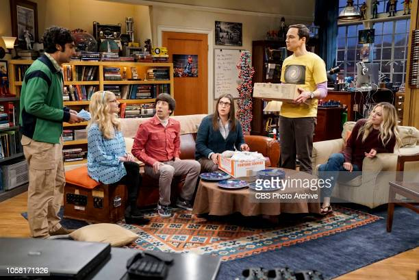 'The Consummation Deviation' Pictured Rajesh Koothrappali Bernadette Howard Wolowitz Amy Farrah Fowler Sheldon Cooper and Penny Sheldon tries to bond...