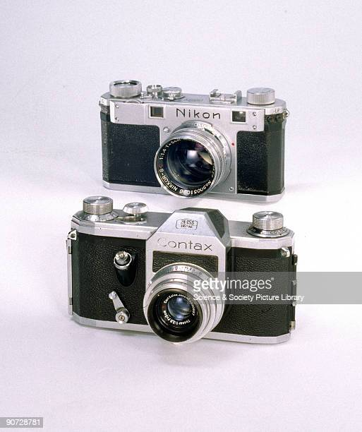 The Contax S 35 millimetre single lens reflex camera was made by Zeiss Ikon in East Germany The �S� stands for Spiegelflex The Contax S was the first...