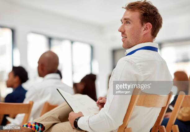 The content of the conference already has him thinking