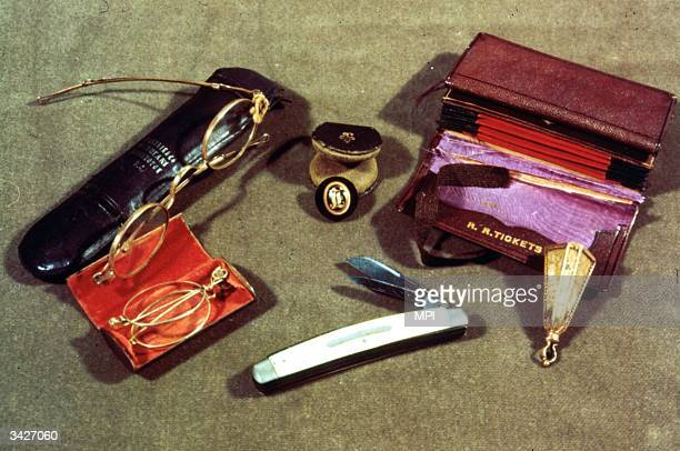 The contents of President Abraham Lincoln's pockets on the night he was assassinated