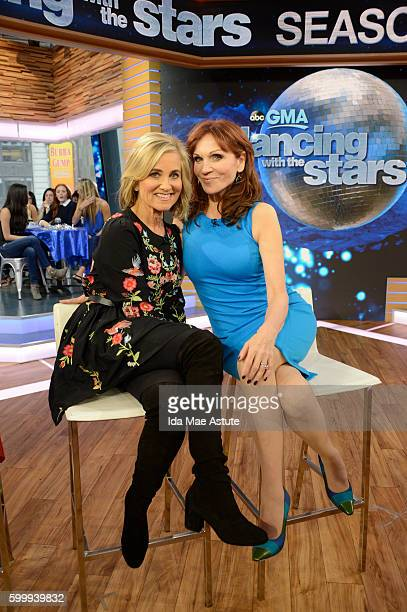 AMERICA The contestants of 'Dancing with the Stars' appear on 'Good Morning America' 9/7/16 airing on the ABC Television Network MAUREEN