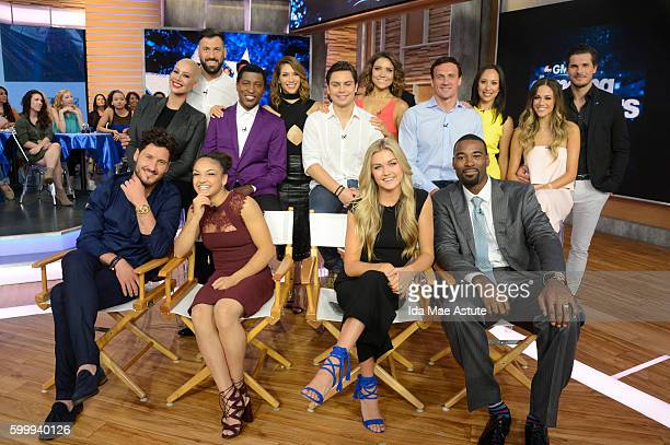AMERICA The contestants of 'Dancing with the Stars' appear on 'Good Morning America' 9/7/16 airing on the ABC Television Network TOP