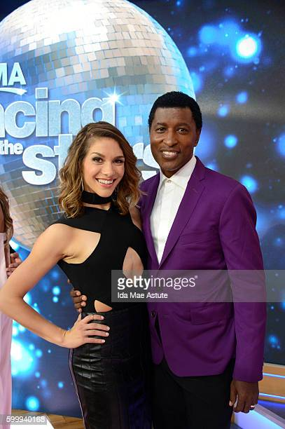 AMERICA The contestants of 'Dancing with the Stars' appear on 'Good Morning America' 9/7/16 airing on the ABC Television Network ALLISON HOLKER...