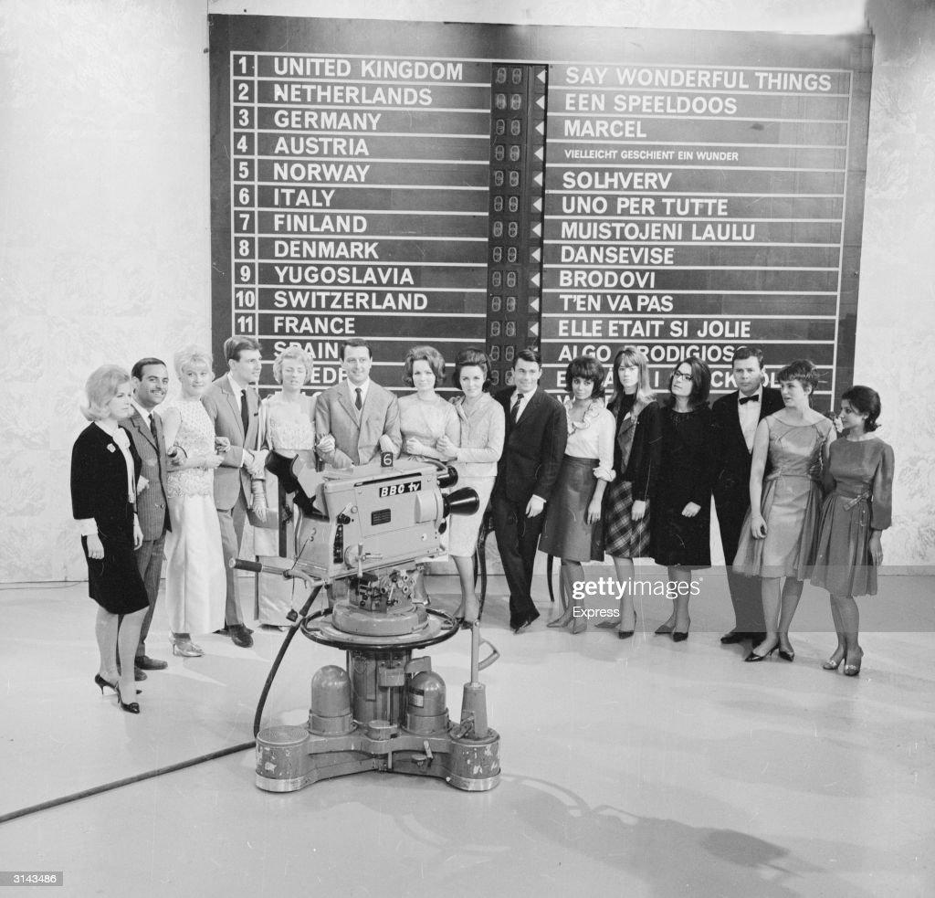 Eurovision '63 : News Photo