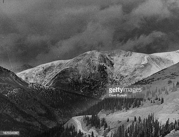 SEP 25 1973 SEP 26 1973 The Continental Divide above the Eisenhower tunnel on US 6 is blanketed by one of the season's early snowfalls The Colorado...
