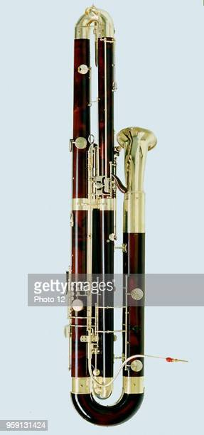 The contrabassoon also called double bassoon is a woodwind instrument pitched an octave below the bassoon