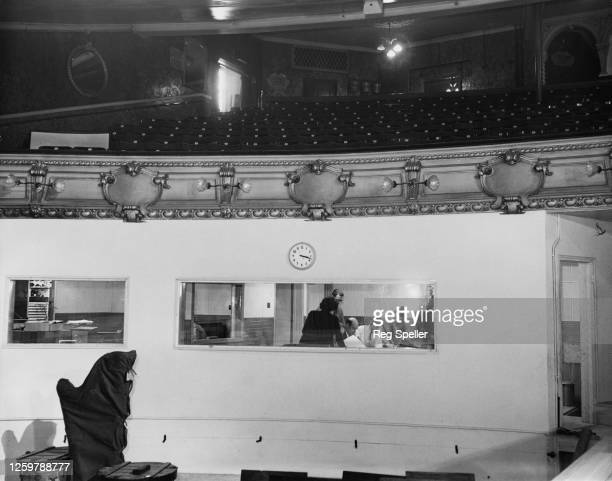 The Control Box fitted by the Associated Broadcasting Company beneath the circle of Wood Green Empire, making the theatre one most modern and...