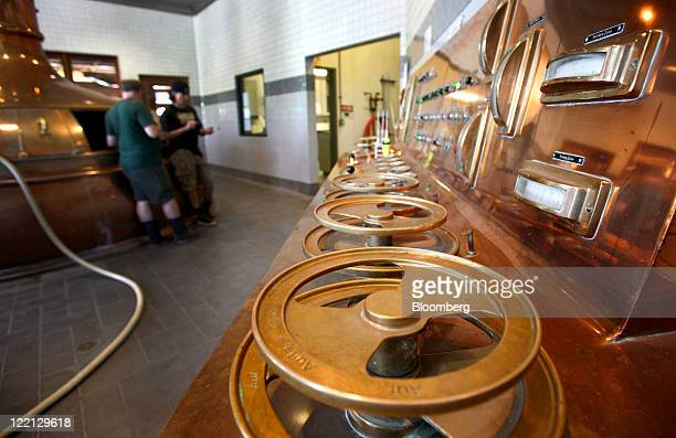 The control panel is seen at the Sierra Nevada Brewing Co brewery in Chico California US on Wednesday Aug 24 2011 The Sierra Nevada Brewing Co...