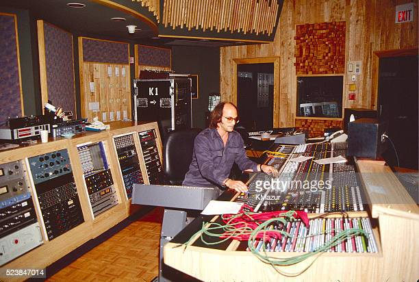The control room in one of the recording studios inside Paisley Park circa 1990 at Paisley Park in Chanhassen, Minnesota.