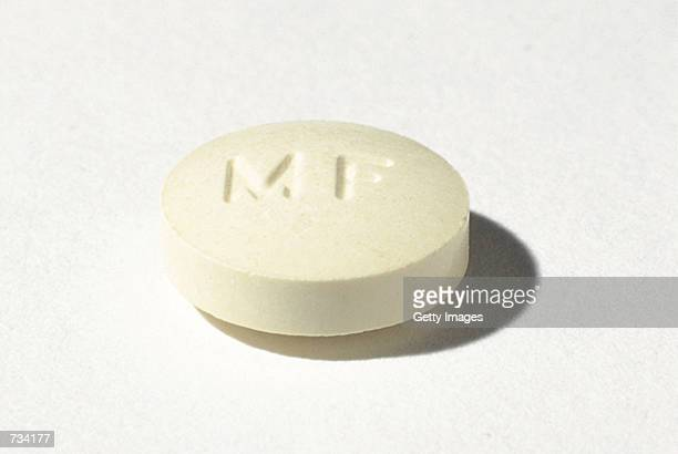 The controversial abortion pill known as RU486 seen here as Mifeprex is being shipped to US physicians for the first time beginning November 20 2000...