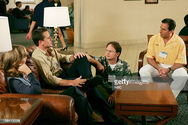 THE OFFICE The Convention Episode 2 Aired Pictured Melora Hardin as Jan Levinson Charles Esten as Josh Porter Rainn Wilson as Dwight Schrute and...