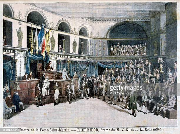 The Convention scene from Thermidor at the Theatre de la Porte SaintMartin Paris 1896 The play was written by the French dramatist Victorien Sardou...