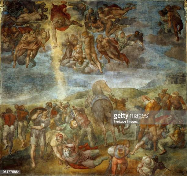 The Conversion of Saul, Between 1542 and 1545. Found in the Collection of Apostolic Palace, Vatican.