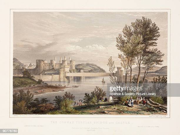 The Conwy Tubular Bridge which was built in 1849 was designed by Robert Stephenson as part of the Chester to Holyhead Railway The main span of the...