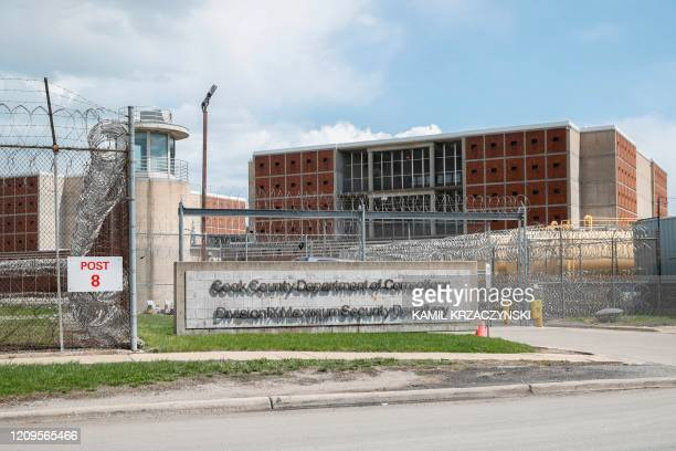 The Cook County Department of Corrections housing one of the nation's largest jails is seen in Chicago Illinois on April 9 2020 The jail has seen a...