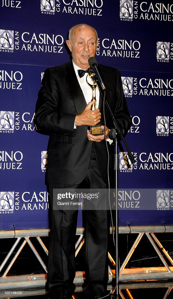 The cook Lucio, winner of the award 'Golden Antenna', 27th September 2009, 'Gran Casino de Aranjuez', Aranjuez, Madrid.
