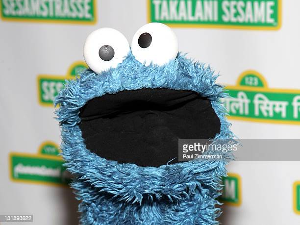 The Cookie Monster attends the 9th annual Sesame Workshop Benefit Gala at Cipriani 42nd Street on June 1, 2011 in New York City.