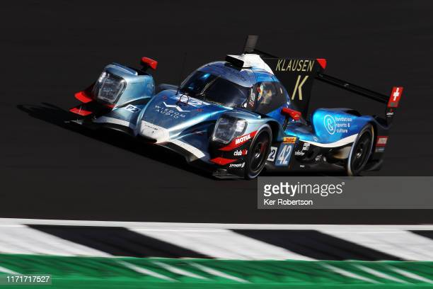 The Cool Racing Oreca - Gibson of Nicolas Lapierre and Antonin Borga drives during the FIA World Endurance Championship race at Silverstone Circuit...
