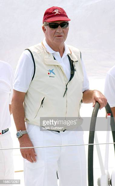 The Copa Del Rey Regatta In Palma De MallorcaKing Juan Carlos Of Spain