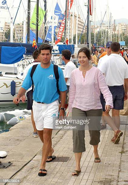 The Copa Del Rey Regatta In Palma De MallorcaPrincess Alexia Of Greece Husband Carlos Morales Quintana