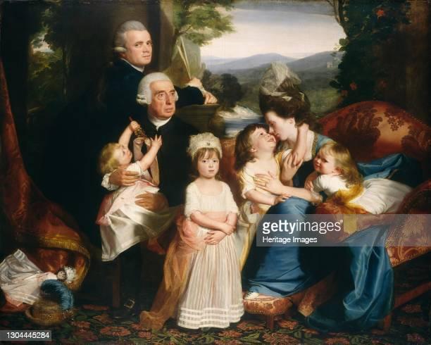 The Copley Family, 1776/1777. Artist John Singleton Copley.