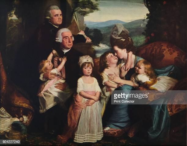 'The Copley Family' 17761777 The painting is part of the Mellon Collection National Gallery of Art Washington DC From Masterpieces of Painting edited...