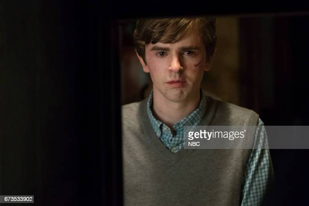 MOTEL 'The Cord' Episode 510 Pictured Freddie Highmore as Norman Bates