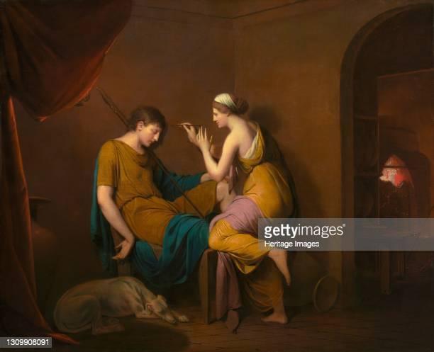 The Corinthian Maid, 1782-1784. Artist Joseph Wright of Derby. .