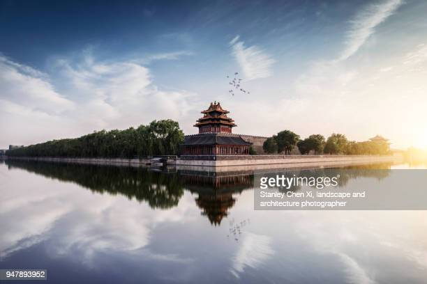 The corner building of the Forbidden City