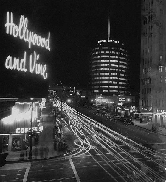 Hollywood And Vine Wall Art