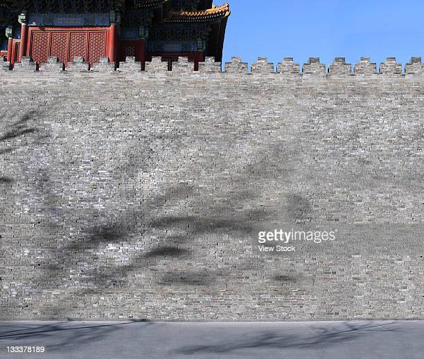 The Corner Of The Forbidden City,Beijing,China