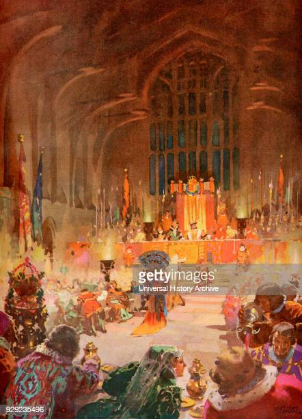 The coronation banquet of King Henry VIII 24 June 1509 Henry VIII 1491 – 1547 King of England From Their Gracious Majesties King George VI and Queen...