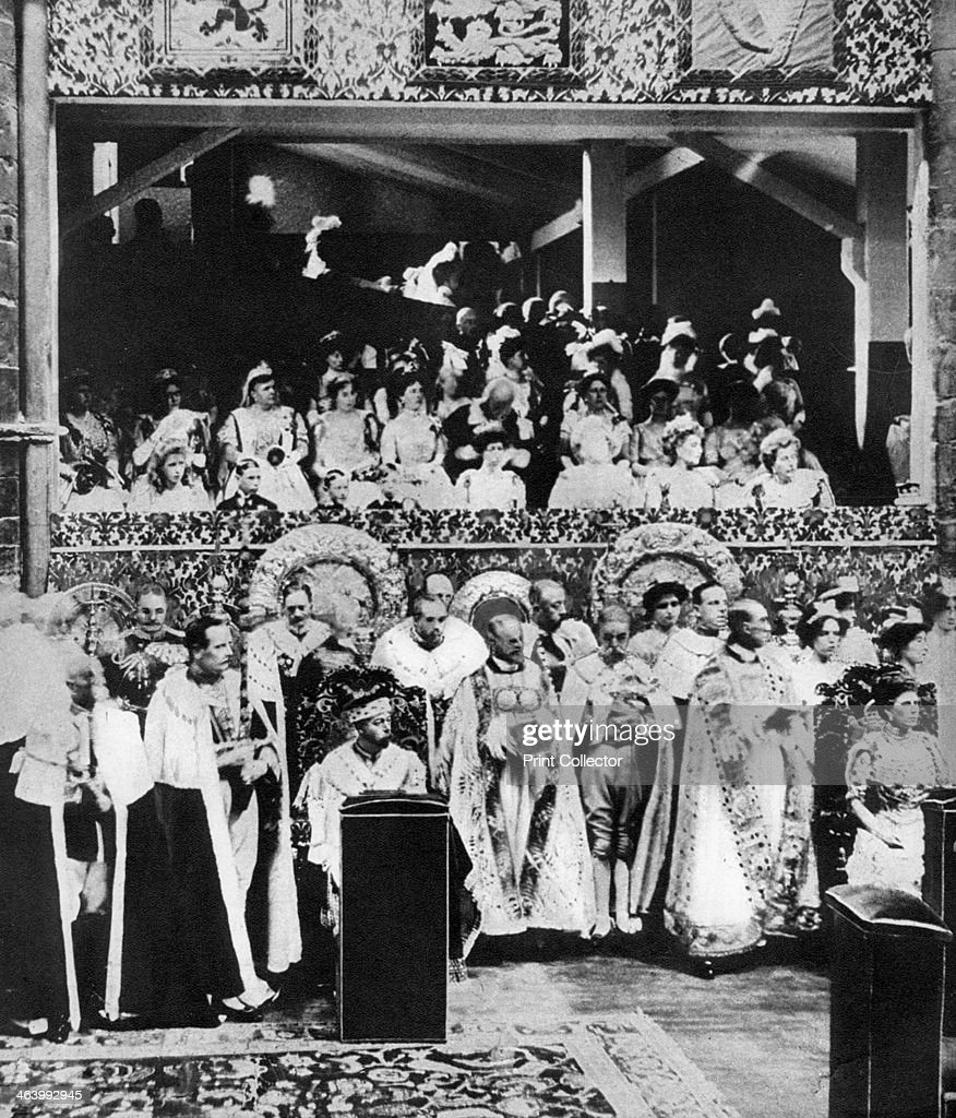 The coronation of King George V, Westminster Abbey, 22 June 1911. : News Photo