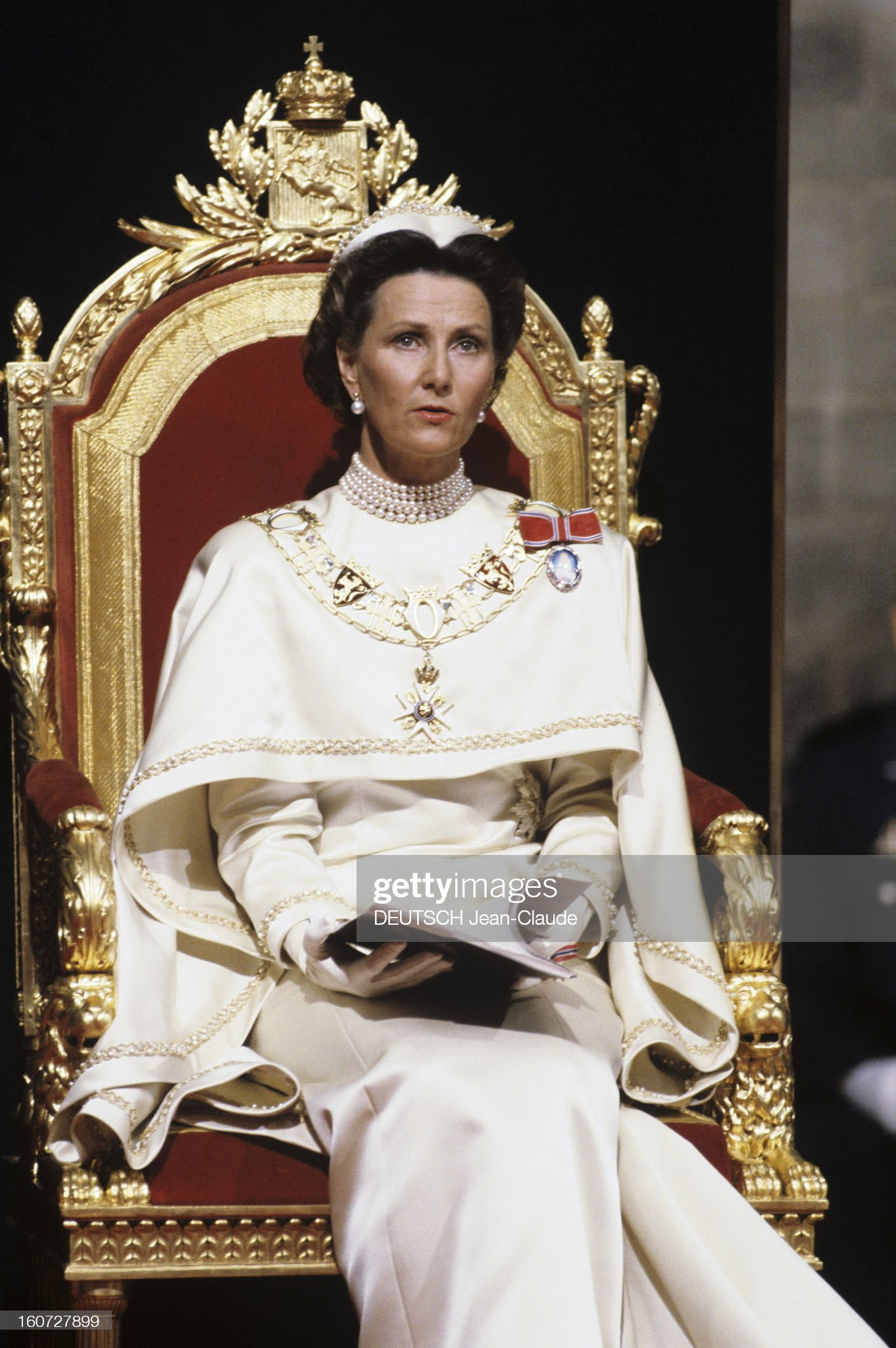 The Coronation Of King Harald V And Queen Sonja Of Norway : News Photo
