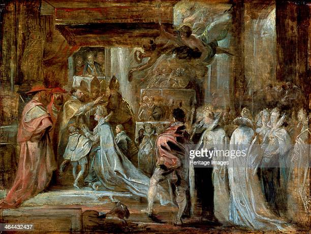 'The Coronation of Marie de' Medici' 1622 Rubens Pieter Paul Found in the collection of the State Hermitage St Petersburg