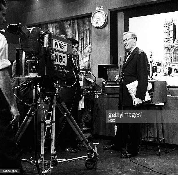 TODAY 'The Coronation of Queen Elizabeth II' Pictured NBC News' Dave Garroway covering the coronation of Queen Elizabeth II on June 2 1953