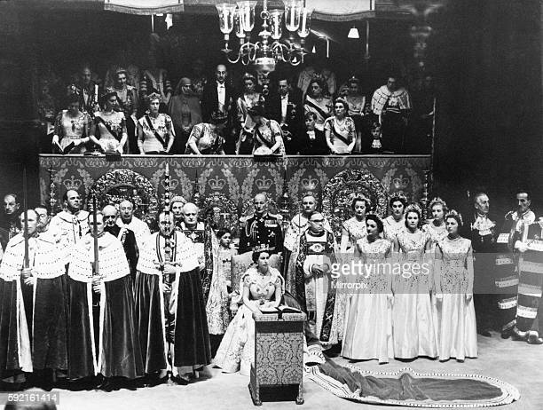 The Coronation of Queen Elizabeth II was the ceremony in which the newly ascended monarch Elizabeth II was crowned Queen of the United Kingdom Canada...