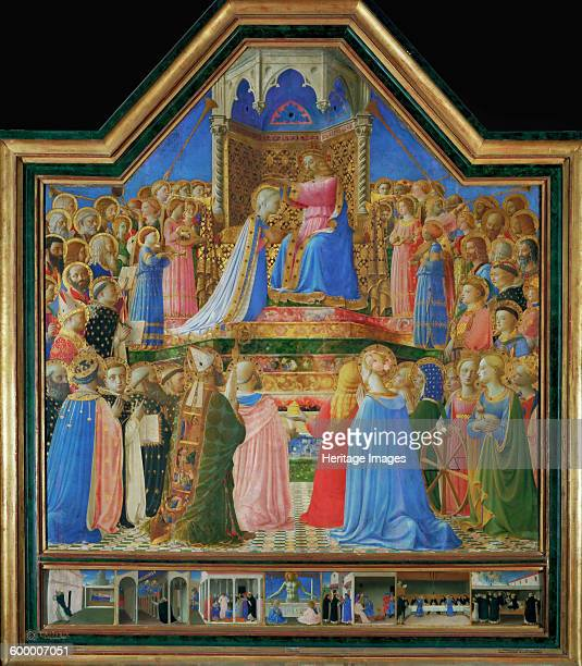 The Coronation of the Virgin ca 1430 Found in the collection of Musée du Louvre Paris Artist Angelico Fra Giovanni da Fiesole