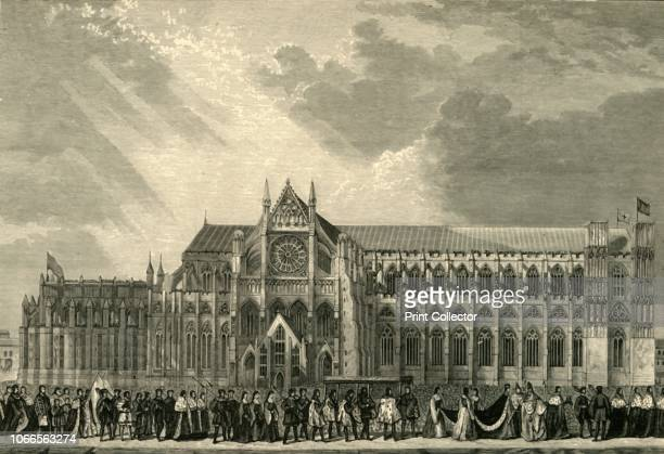 The Coronation Procession of Anne Boleyn to Westminster Abbey' Anne was crowned queen consort on 1 June 1533 in a magnificent ceremony at Westminster...