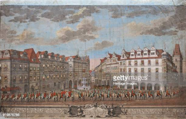 The Coronation procession of Maria Theresa in the Old Town of Prague 1743 Private CollectionFine Art Images/Heritage Images/Getty Images