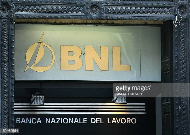 Banco Nationale Di Lavoro : Banco nazionale stock fotos und bilder getty images