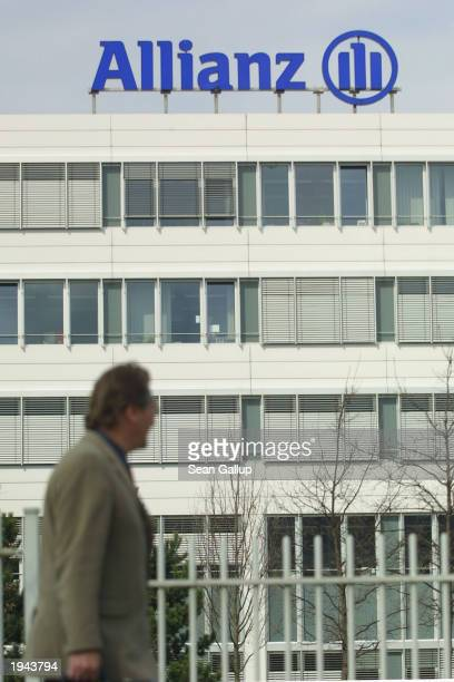 The corporate offices of Allianz AG Germany's largest insurance company April 22 2003 in Munich Germany Allianz has seen its share price collapse by...