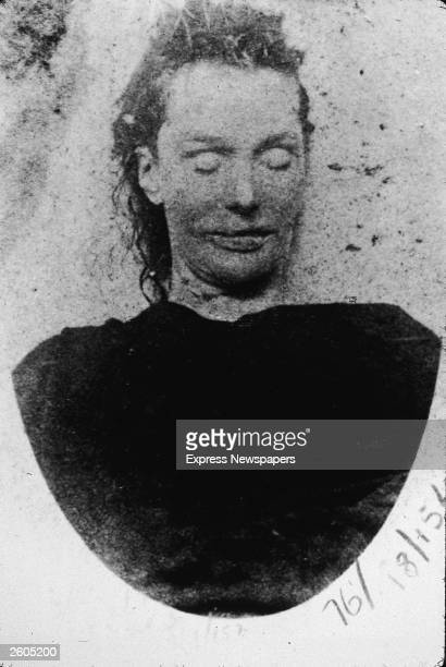 The corpse of Elizabeth Stride, murdered by Jack the Ripper at Derner Street, September 30, 1888. Jack the Ripper was an English serial killer who...