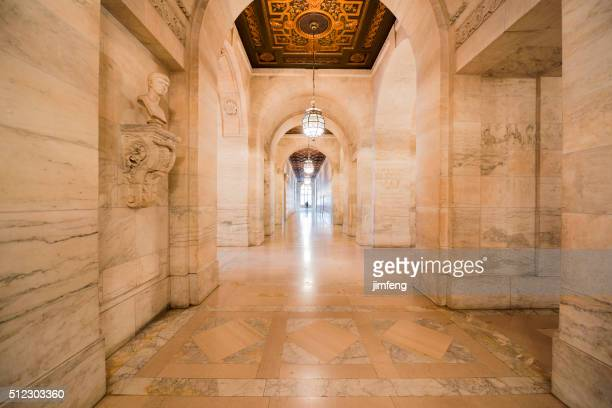 The Corridor of New York Public Library