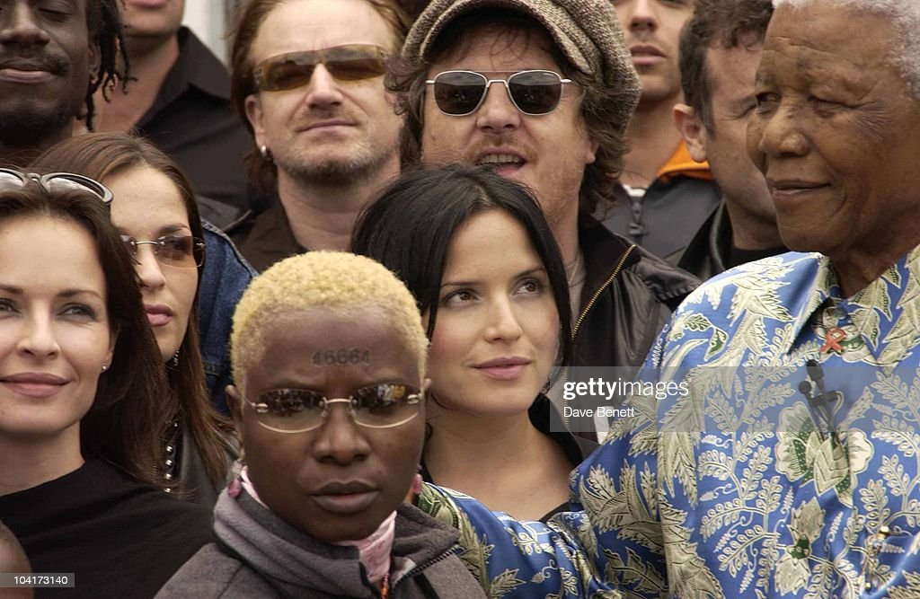 The Corrs And Nelson Mandela, The Stars Of Rock And Roll Join Forces For Nelson Mandela's 46664 Concert In Cape Town, South Africa. In The Pre, Concert Build Up The Artists And Mr Mandela Travelled To The Prison On Robben Island, Where Mr Mandela Was Imprisoned For 27 Years And Was Known Simple As Prisoner 46664, South Africa Gears Up For Aids Awareness Mandela Concert 46664. The Concert Is In Association With Mtv's Staying Alive & Www.46664.com Powered By Tiscali.