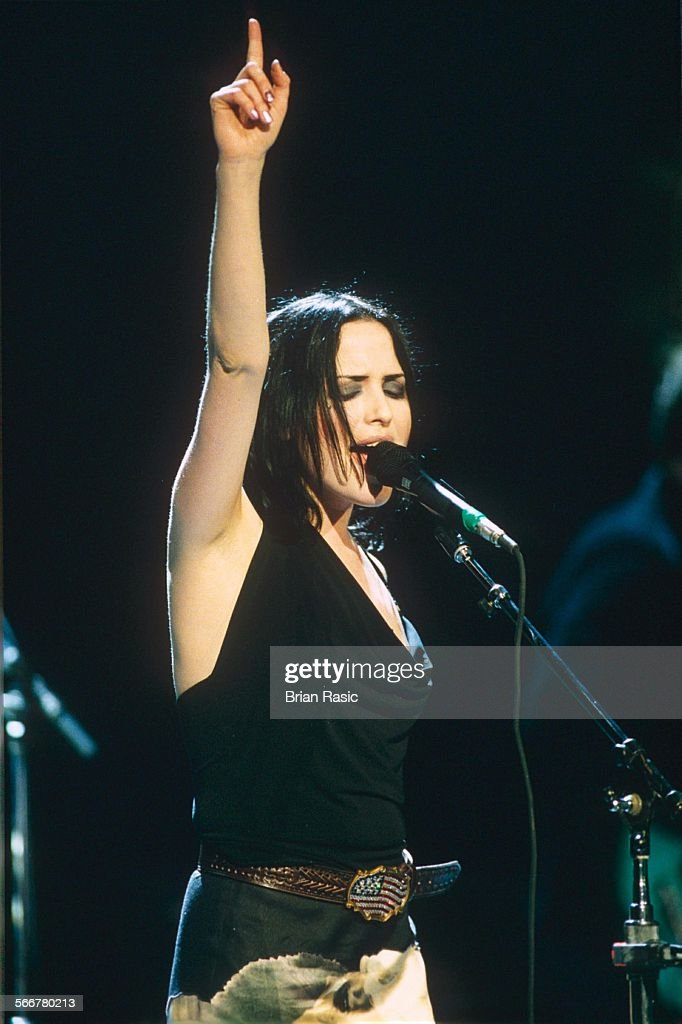 The Corrs Performing At The National Car Rental Centre Miami