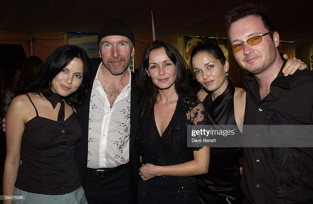 The Corrs With The Edge (u2), The Stars Of Rock And Roll Join Forces For Nelson Mandela's 46664 Concert In Cape Town, South Africa. In The Pre, Concert Build Up, This Evening A Gala Dinner Was Held At The Vergelegen Estate Outside Cape Town, South Africa Gears Up For Aids Awareness Mandela Concert 46664. The Concert Is In Association With Mtv's Staying Alive & Www.46664.com Powered By Tiscali.